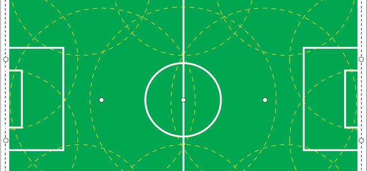 Závlaha futbalového ihriska