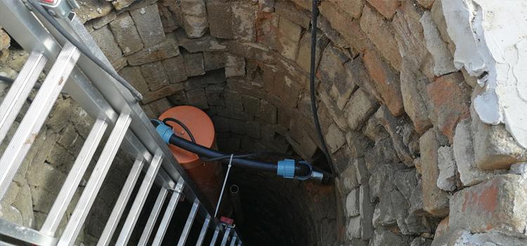 Čerpadlo do studne s frekvenčným meničom