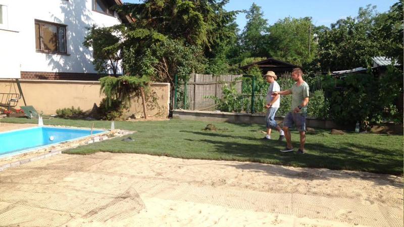 Automatická závlaha, kobercový trávnik - Senec